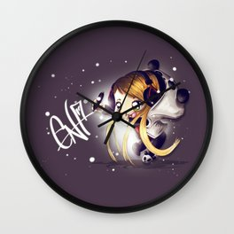 Chibi EnaGrapher Wall Clock