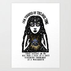 Dark Thing Art Print