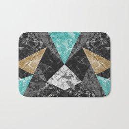 Marble Geometric Background G430 Bath Mat