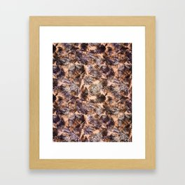 tropical chop (variant) Framed Art Print