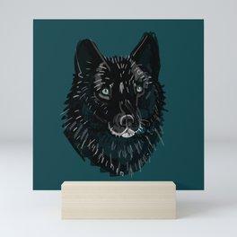 Totem Romeo the wolf Mini Art Print