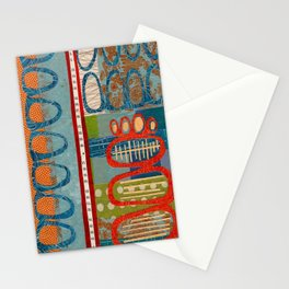 skipping stones Stationery Cards