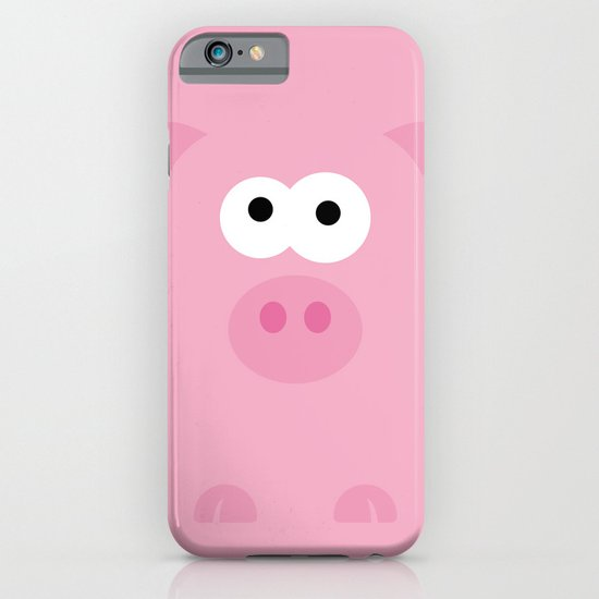 Minimal Pig iPhone & iPod Case