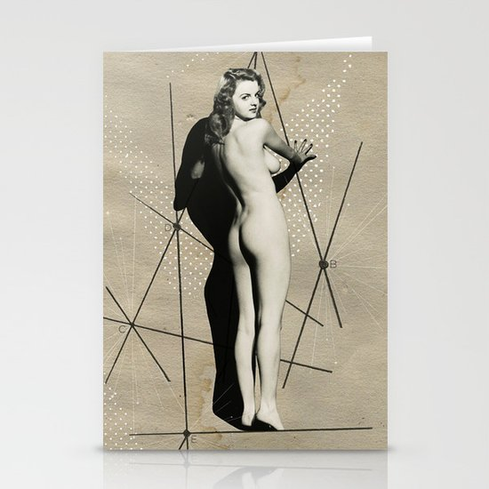 nude, no. 19 Stationery Cards