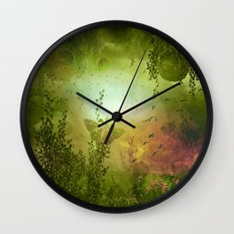 """""""Forest of children"""" Wall Clock"""