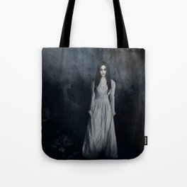 Ghost In The Mist Cristina Scabbia Inspired Artwork Tote Bag