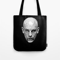 john Tote Bags featuring John by Rik Reimert