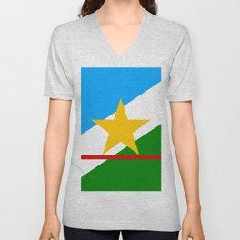 flag of Roraima Unisex V-Neck