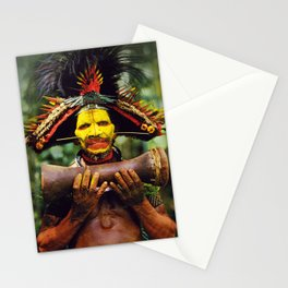 Papua New Guinea Chief Stationery Cards