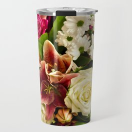Bouquet Of Flowers Travel Mug