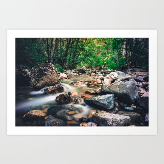 Endless Streams Art Print