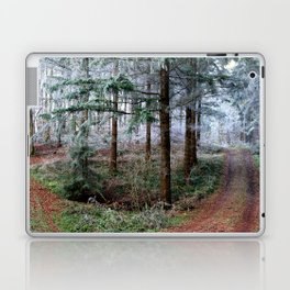 the red forest crossing Laptop & iPad Skin
