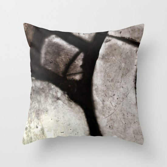 glass abstract 4 Throw Pillow