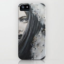 Weeping Heart and the Moon iPhone Case