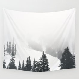 Snow Day Wall Tapestry