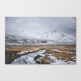 Heading to the Mountains - Landscape and Nature Photography Canvas Print