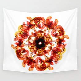 Illustrator's Mandala Wall Tapestry