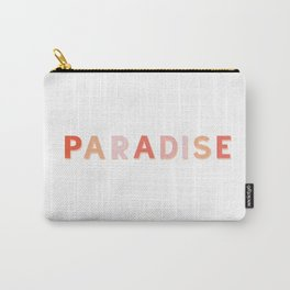Pastel Paradise Carry-All Pouch