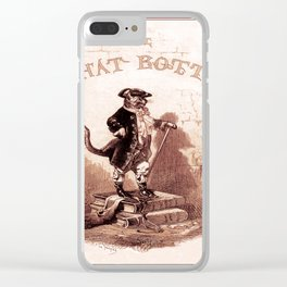 Puss in Boots (Le chat botté) Clear iPhone Case