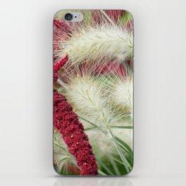 autumn begins iPhone Skin