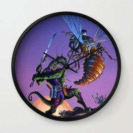 Bug Wars Wall Clock