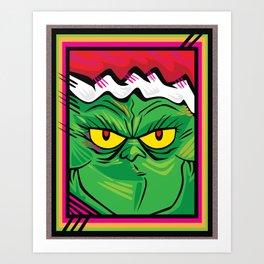 xGRINCHx Art Print