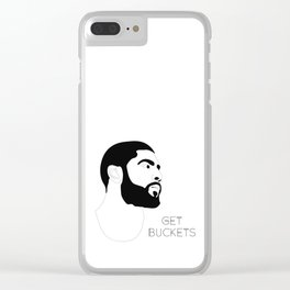 Kyrie Gets Buckets Clear iPhone Case