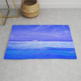 Seascape Art Rug
