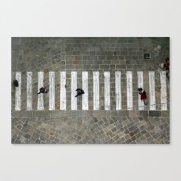 Bologna Streets  Canvas Print
