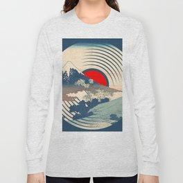 Rubino Wave LP Record Vinyl Asian Japan Long Sleeve T-shirt