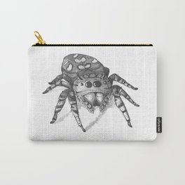 Inktober 2016: Jumping Spider Carry-All Pouch