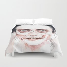 Deep cuts Duvet Cover