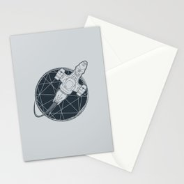 Shining star Stationery Cards