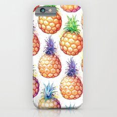 Fat Pineapples Pattern iPhone 6s Slim Case