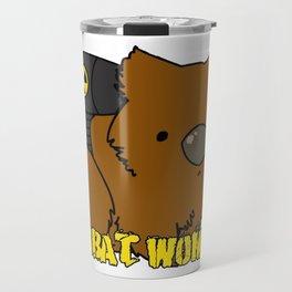 Combat Wombat Travel Mug