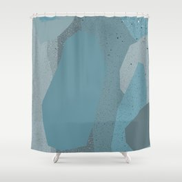 SPECKLED STONES Shower Curtain