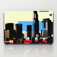 los angeles iPad Cases featuring Los Angeles by Amy Smith - ColorScape