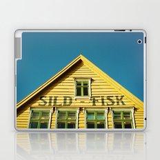 Sunny Yellow House Laptop & iPad Skin