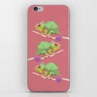 chameleon iPhone & iPod Skins featuring Chameleon. by Diana D'Achille