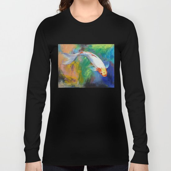 Koi Art Pirouette Long Sleeve T-shirt