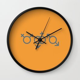 All good in Yellow Wall Clock