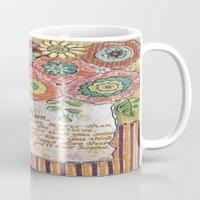 mom Mugs featuring Mom by Jamie Morath Art