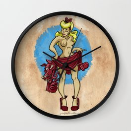 Red Ridinghood  Wall Clock