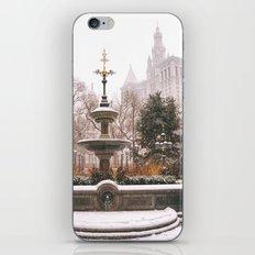 Winter in New York City iPhone & iPod Skin