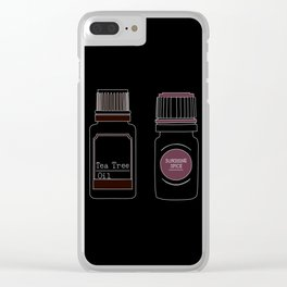 Essential Oils I Clear iPhone Case