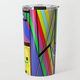 Geometry Abstract Travel Mug