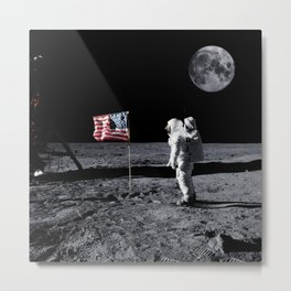 The Great Conspiracy: The Moon Is a Lie Metal Print