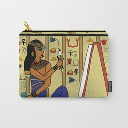 Egyptian Artist Carry-All Pouch