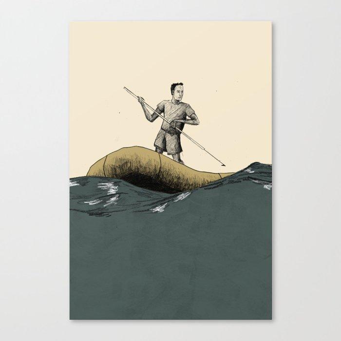 Liferaft Canvas Print