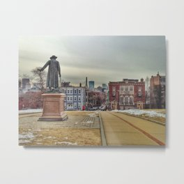 Monument Square Metal Print